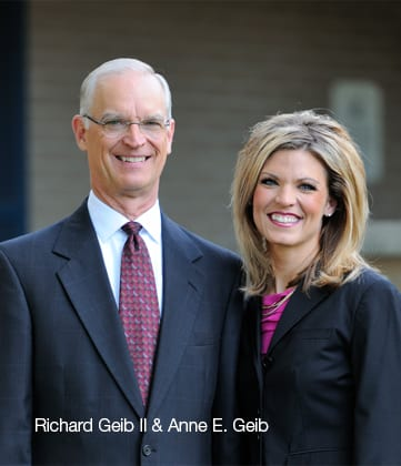 Richard Geib II and Anne Geib