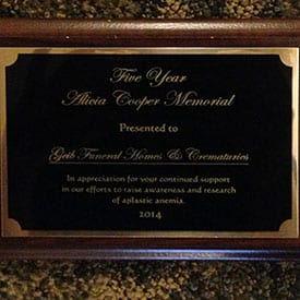 Five Year Alicia Cooper Memorial