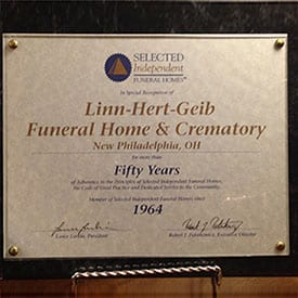 Selected Independent Funeral Homes - Fifty Years